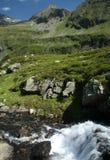 De Oostenrijkse Alpen van de zomer Stock Foto's