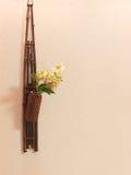 De oosterse bloemen van het muurdecor Stock Foto