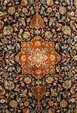 De oosterse Perzische Textuur van het Tapijt Stock Foto