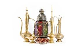 De oosterse Ramadan kareem Eid Mubarak van de vakantiedecoratie royalty-vrije stock foto's