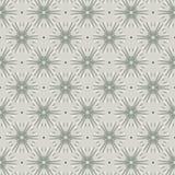 De Oosterse Stijl van Gray Vintage Graphic Seamless Pattern Stock Afbeelding