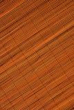 De oosterse textuur van de rotanmat Stock Foto