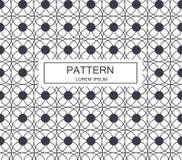 De oosterse textuur van het patroonontwerp Uitstekende stijl Illustratie Stock Fotografie