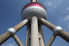 De oosterse Toren Shanghai van de Parel Royalty-vrije Stock Afbeeldingen