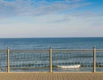 De Oostzeepromenade Stock Foto
