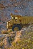 De op zwaar werk berekende Vrachtwagen van de Stortplaats Royalty-vrije Stock Fotografie