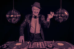 De opa van DJ Royalty-vrije Stock Afbeelding