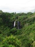 ` De Opaeka caídas, Kauai, Hawaii Fotos de archivo