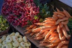 De Opbrengst van de landbouwersmarkt Royalty-vrije Stock Foto's