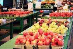 De Opbrengst van de Markt van de landbouwer Royalty-vrije Stock Foto's