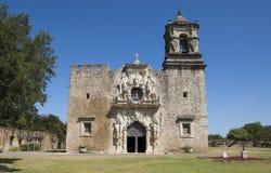 De opdrachtkerk van San Jose, San Antonio, Texas, de V.S. Stock Foto's
