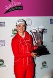 De Open Dames Champ 2012 van het Golf van Caroline Masson SA Stock Foto's