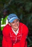 De Open Dames Champ van Caroline Masson Portrait SA Golf Stock Foto
