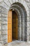 De open deur Stock Foto's