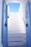 De open deuren van de Orthodoxe kerk Stock Afbeelding