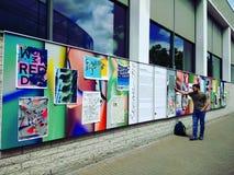 De open galerij van Amsterdam Stock Foto