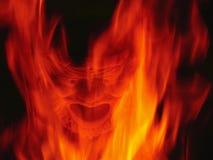 De open haard van de duivel Royalty-vrije Stock Foto's