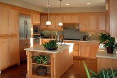 De open keuken van planCalifornië Royalty-vrije Stock Afbeeldingen
