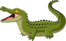 De Open Mond van de krokodil stock illustratie