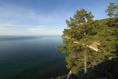 De open plekken van Baikal! Stock Afbeeldingen