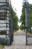 De open poort Royalty-vrije Stock Afbeeldingen