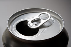 De open soda kan bedekken Royalty-vrije Stock Foto's