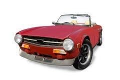 De open sportwagen van Triumph Royalty-vrije Stock Afbeelding