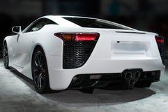 De Open tweepersoonsauto van de luxesport royalty-vrije stock afbeeldingen