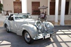 De Open tweepersoonsauto van de triomf op de Uitstekende Parade van de Auto Royalty-vrije Stock Afbeeldingen