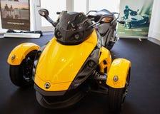 De Open tweepersoonsauto van kunnen-Am Spyder RS Royalty-vrije Stock Fotografie