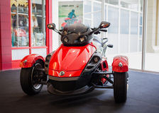 De Open tweepersoonsauto van kunnen-Am Spyder RS Royalty-vrije Stock Afbeeldingen