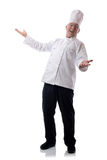 De open wapens van de chef-kok Royalty-vrije Stock Foto's