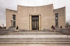 De Openbare Bibliotheek van Brooklyn Stock Afbeeldingen