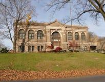 De Openbare Bibliotheek van Easton, Easton, Pennsylvania Stock Fotografie