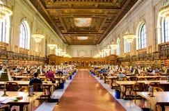De Openbare Bibliotheek van New York stock foto's