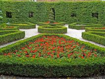 De openbare tuin van het ontwerp stock afbeeldingen