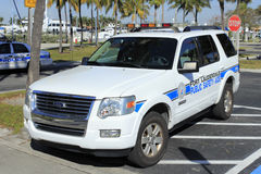 De openbare Vrachtwagen van de Veiligheidsassistent Royalty-vrije Stock Afbeeldingen