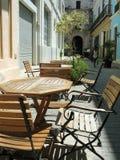 De openlucht koffie van Havana Royalty-vrije Stock Afbeeldingen