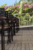 De openluchtkoffie van de zomer Royalty-vrije Stock Afbeelding