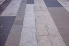 De openluchtoppervlakte van de Gangmanier Stock Foto