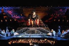 De opera Aida Stock Foto's