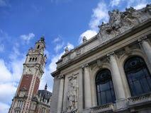 De opera en de Kamer van Koophandel stock foto's