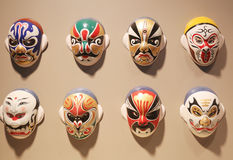 De Opera Gezichtsmaskers van Peking stock foto's