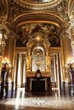 De opera of het Paleis Garnier. Parijs, Frankrijk. Stock Afbeeldingen