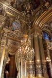 De opera of het Paleis Garnier. Parijs, Frankrijk. stock afbeelding