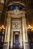 De opera of het Paleis Garnier. Parijs, Frankrijk. Royalty-vrije Stock Foto's