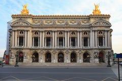 De opera of het Paleis Garnier, Parijs, Frankrijk. Stock Foto's