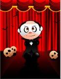 De opera spookvector van Halloween Stock Foto