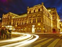 De Opera van de Staat van Wenen Stock Foto's