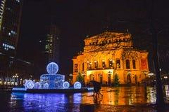 De Opera van Frankfurt stock fotografie